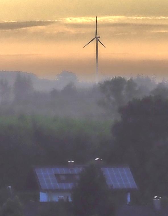 Antrag auf Beschleunigung der Planung zum Bau von 1 bis 3 Windkraftanlagen
