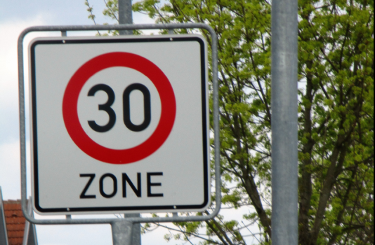 Tempo 30 Zonen – Thema in der Grünen Bürgerrunde
