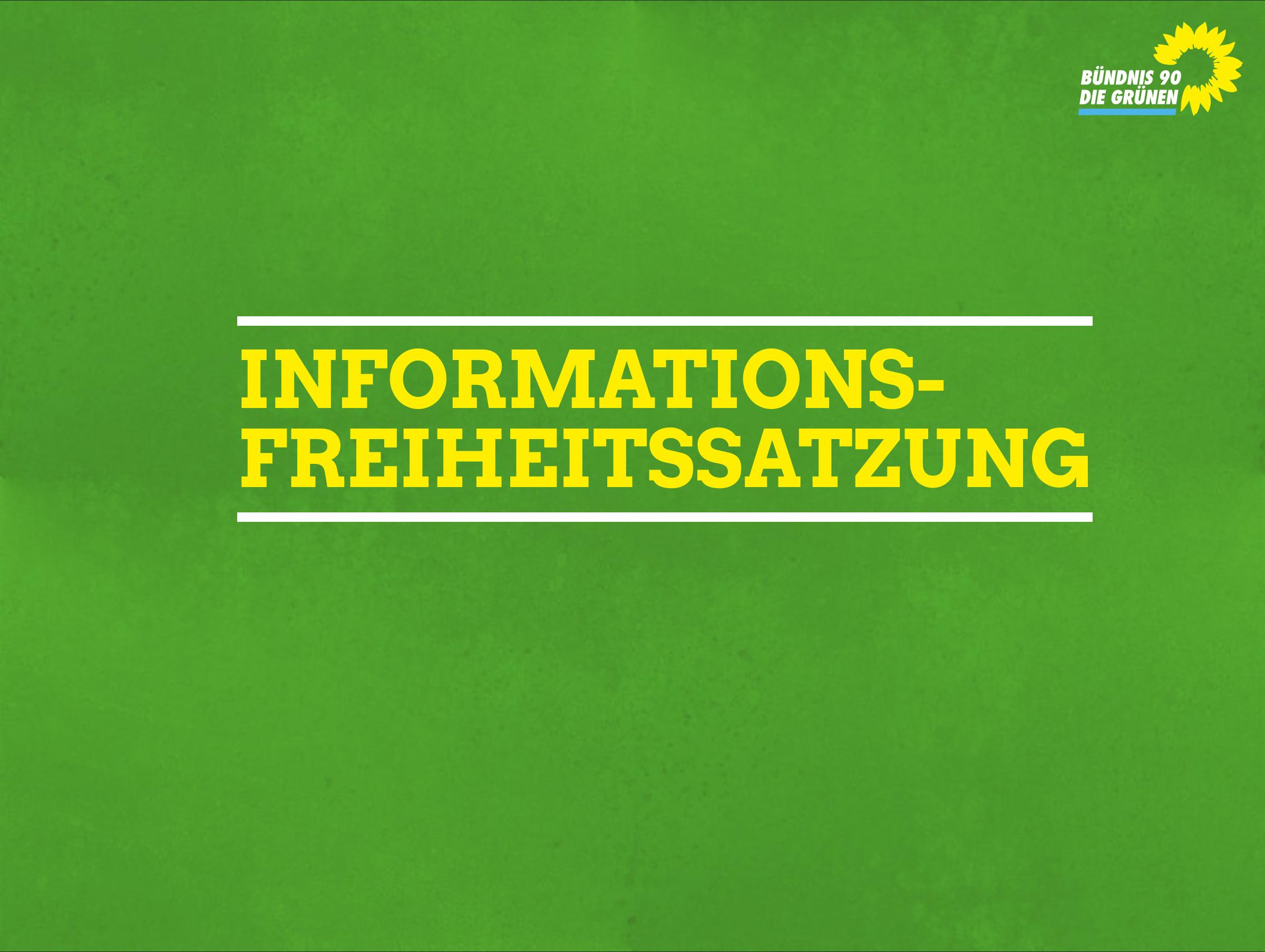 Informationsfreiheitssatzung